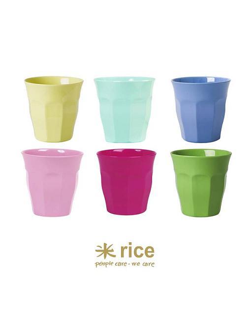 rice melamin becher klassische farben mittel
