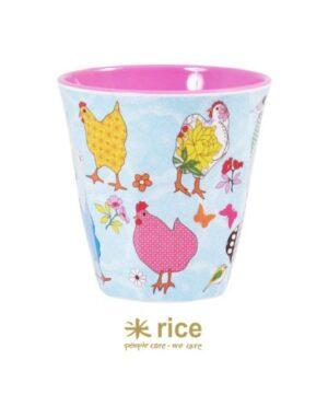 rice melamin becher hühner mittel