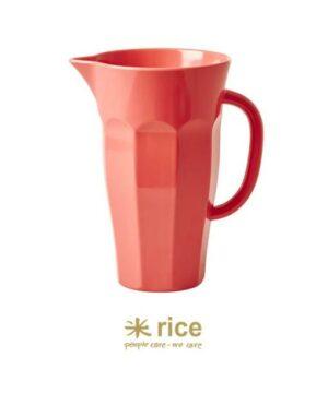 rice melamin krug korallenrot