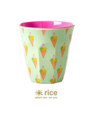 rice melamin becher eis mittel
