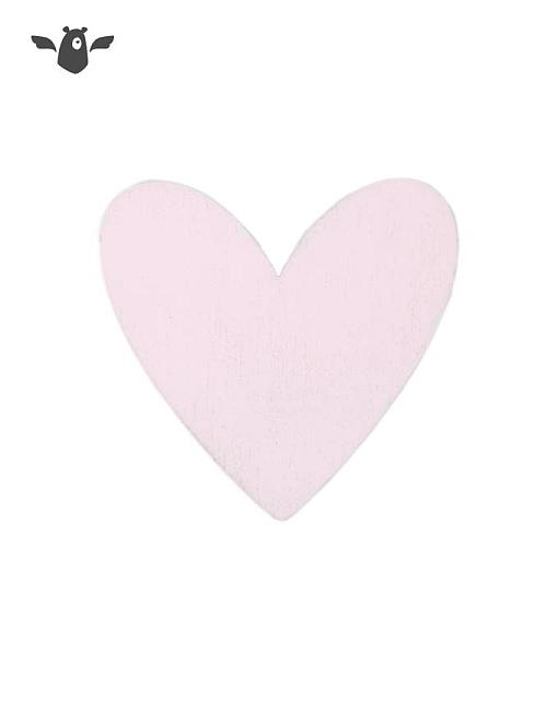 wandhaken herz rosa garderobe kinderzimmer