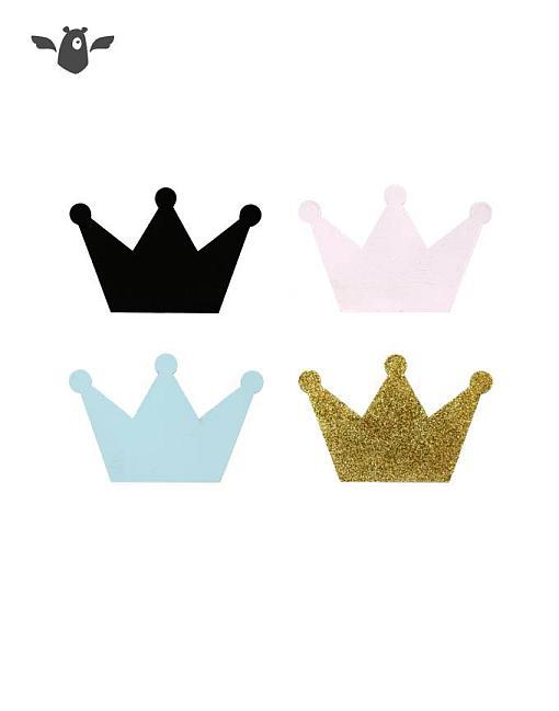 wandhaken krone alle farben garderobe kinderzimmer