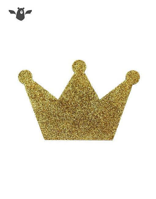 wandhaken krone gold garderobe kinderzimmer