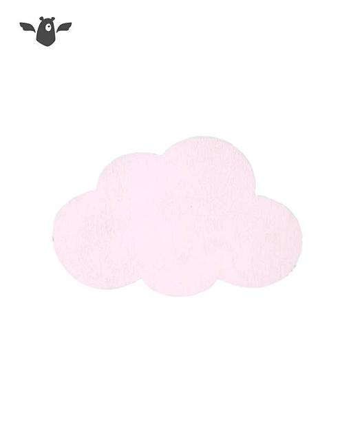 wandhaken wolke rosa garderobe kinderzimmer