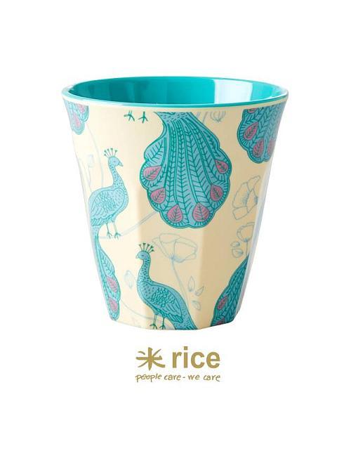 rice melamin becher pfau mittel