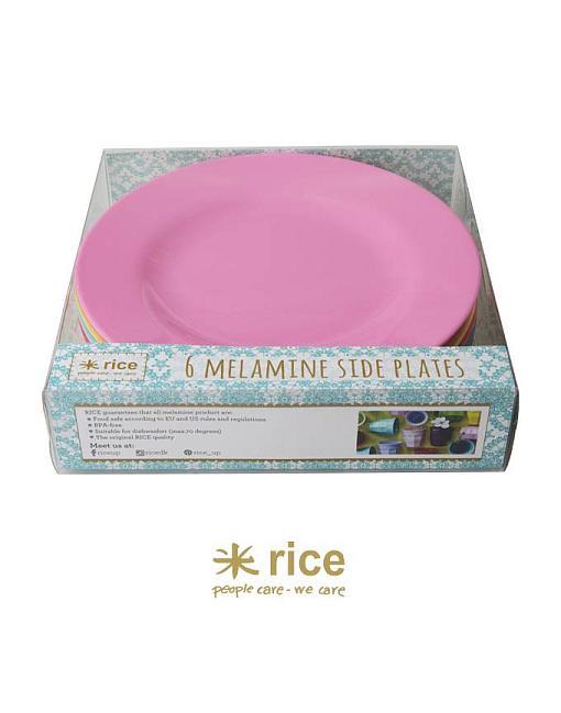 rice melamin kinderteller klassische farben